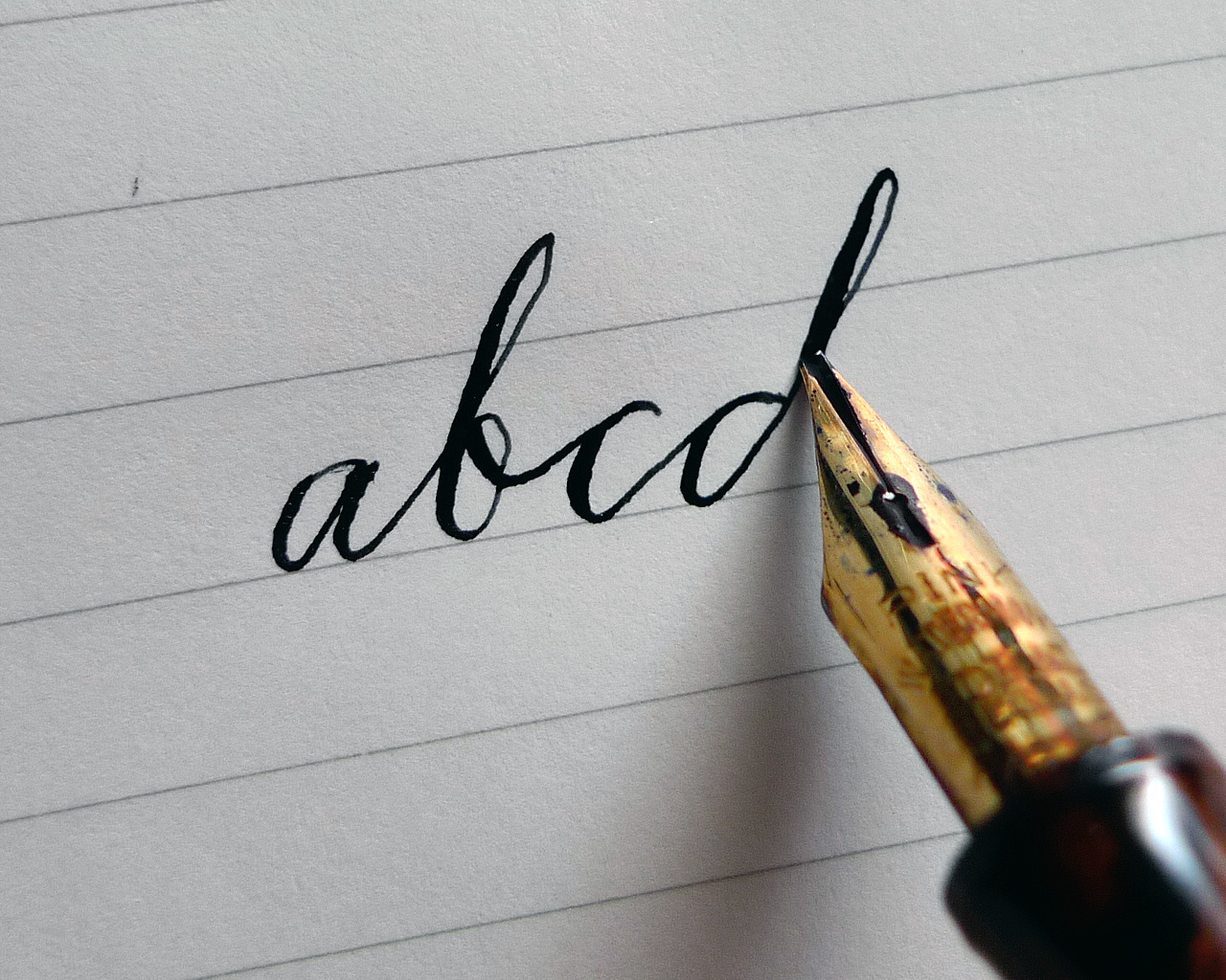 The basics of how to write with a fountain pen the best pens Ballpoint pen calligraphy